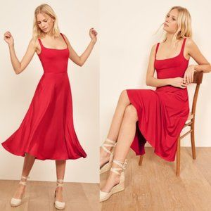 Ref Mary Dress in Red